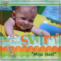 Noel in the Pool