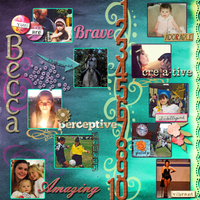 Ten Things About Becca