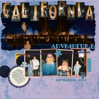 DSD Template Challenge - California Adventure