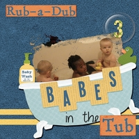 Rub a Dub 3 Babes in a Tub
