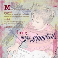Little miss piggytails