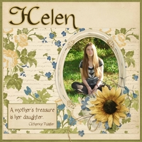 Helen - my treasure