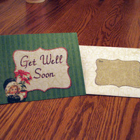 Christmas Get Well Card