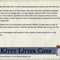 Kitty Litter Cake PT 2