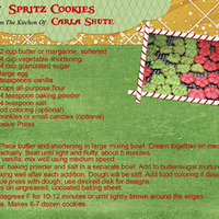 Spritz Cookies, Cookie Swap 2013