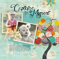 August 2013 Club - Altered Life - Capture the Moment LO