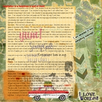 Art Journal Challenge 8/14/13
