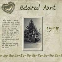 Beloved Aunt