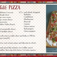 April Recipe Swap: Veggie Pizza