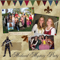 Medieval Mystery Party