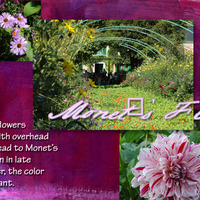 Monet's Flowers - Page 1