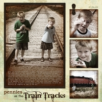Pennies on the Train Tracks