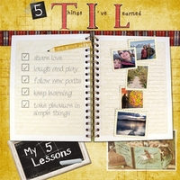 5 Lessons I've learned
