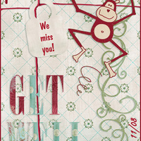 goosie's Get Well ATC for Pat