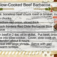 Slow-Cooked Beef Barbacoa