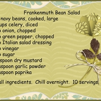 Frankenmuth Bean Salad