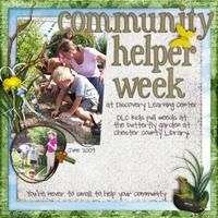 Communtiy Helper Week