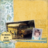School Bus Stop - for me!