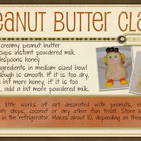 Peanut Butter Clay