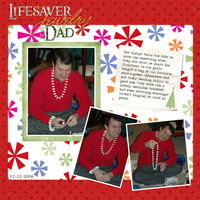 Lifesaver Jewelry for Dad