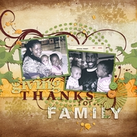 Giving Thanks for Family