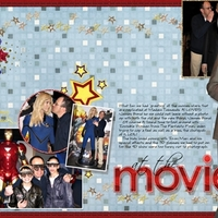 Madam Tussauds - At the movies - all together now