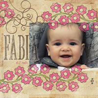 Fabia at 7 months