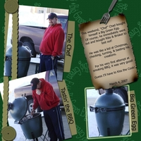 Big Green Egg 3/3 Color Challenge