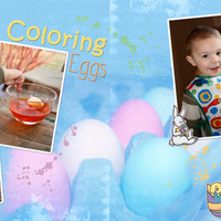 Coloring Eggs 2008