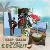 Newsletter Challenge_Keep Calm And Eat coconut