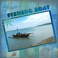 Filipino Fishing Boat