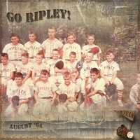 My husband's BB Team 1964