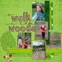 5 DESIGNER LAYOUT -- A Walk In The Woods
