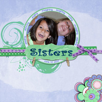 Sisters, inspired by Cascadian Farms :)