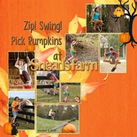 Sketch Challenge: Zip! Swing! Pick Pumpkins!