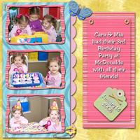 The Twins 3rd Birthday