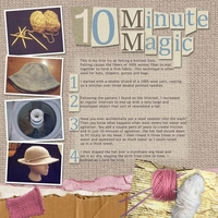 Monday Challenge 02/28/11 10 Minute Magic