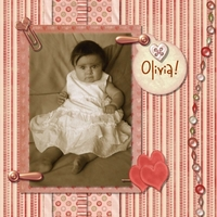 Olivia - cute as a button!