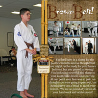 Brown Belt!