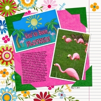 Ro's Newsletter Layout Challenge - 6-18-2011