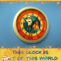 Outerspace Clock