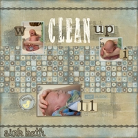 June 10 sketch challenge: Clean Up