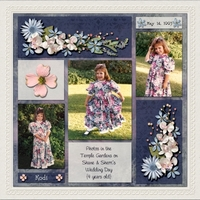 Friday Challenge - Scraplift - Feb 1, 2013 - Our Princess