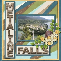 Saturday Color Challenge - Green & Brown - Metaline Falls