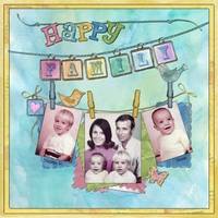 Saturday Color Challenge - 9/11/2010 - Happy Family