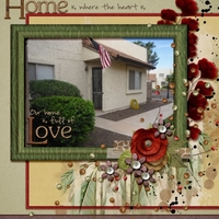 Thursday, November 7th Challenge - 12 Things  -  OUR HOME