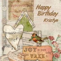 Happy Birthday Kristyn