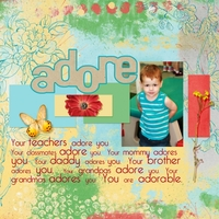 Friday Scraplift Challenge Angie Briggs