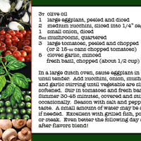 June Recipe Swap Ratatouille
