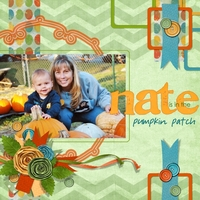 Nate is in the Pumpkin Patch